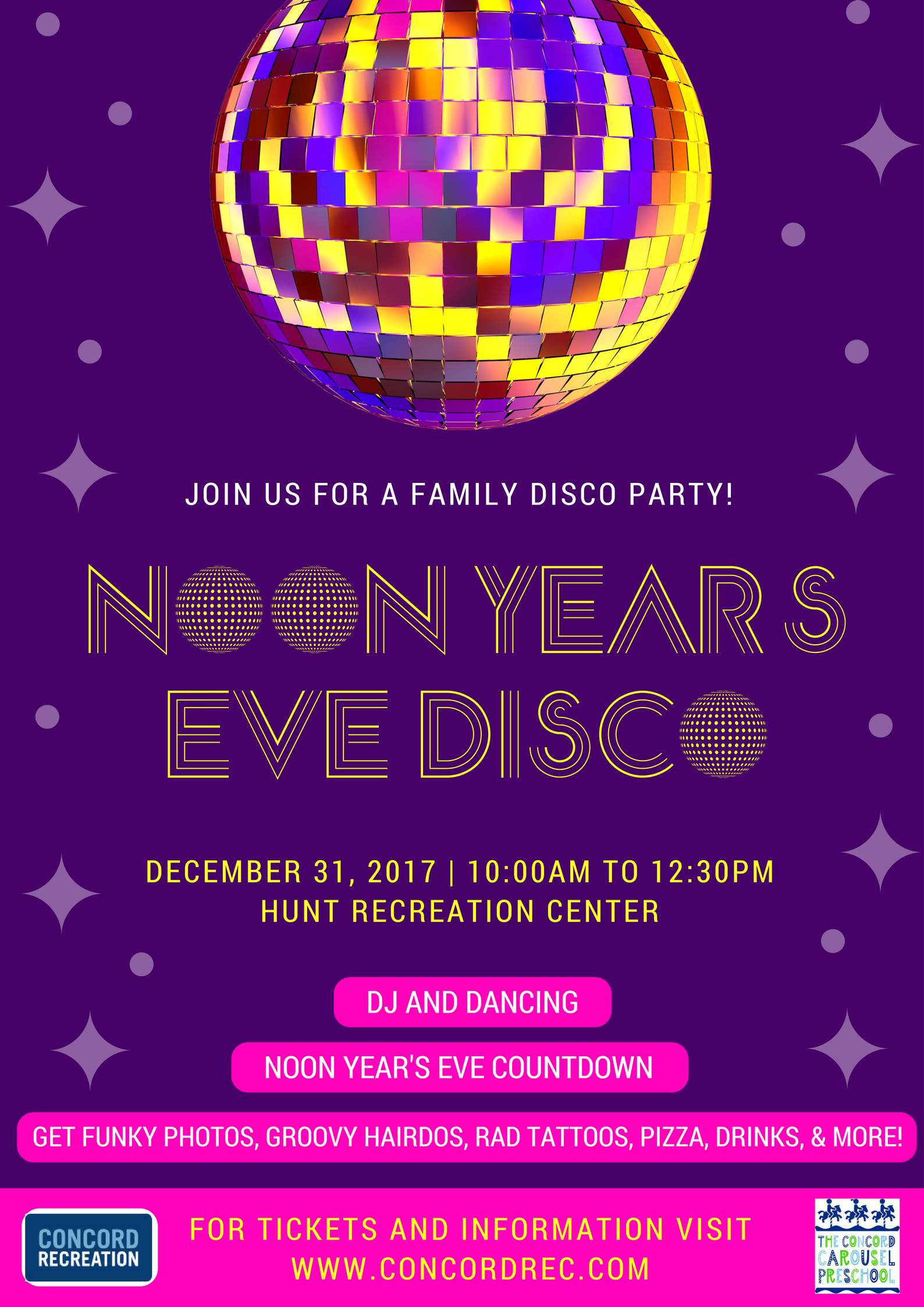 Noon Years Eve Flyer