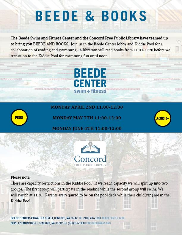 Beede and Books Flyer